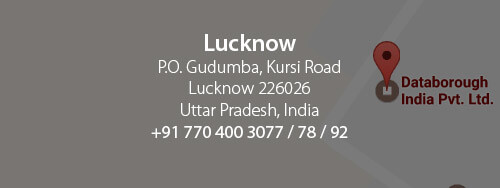 Lucknow - Databorough India Pvt. Ltd. Atrauli, Kursi Road, PO - SDVP. Lucknow, U.P. India, 226026. +91 770 400 3077 / 78 / 92