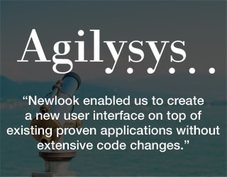 Agilysys - Newlook enabled us to create a new user interface on top of existing proven applications without extensive code changes