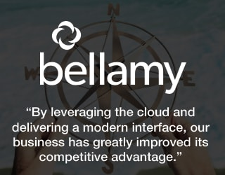 Bellamy - By leveraging the cloud and delivering a modern interface, our business has greatly improved its competitive advantage