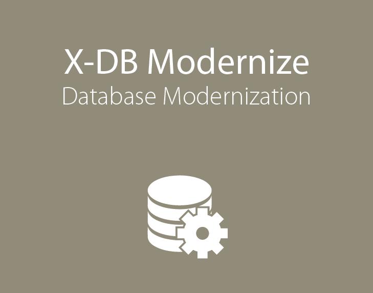 X-DB Modernize, Database Modernization