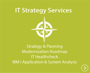 IT Strategy Services - Strategy & Planning, Modernization Roadmap, IT Healthcheck, IBM i Application & System Analysis
