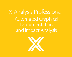 X-Analysis Professional - Automated graphical documentation and impact analysis