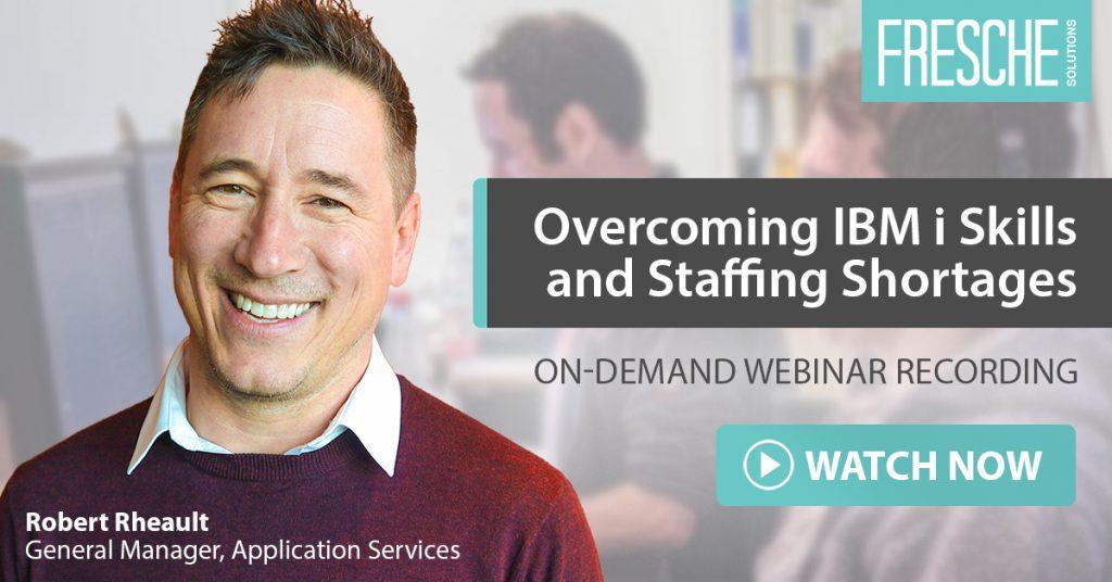 IBM i Staffing Shortages Webinar