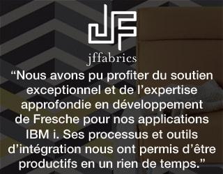 Nous avons pu profiter du soutien exceptionnel et de l'expertise approfondie en developpement de Fresche pour nous applications IBM i. Ses processus et outils d'integration nous ont permis d'etre productifs en un rien de temps.