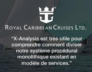 X-Analysis est tres utile pour comprendre comment diviser notre system procedural monolithique existant en modele de services.