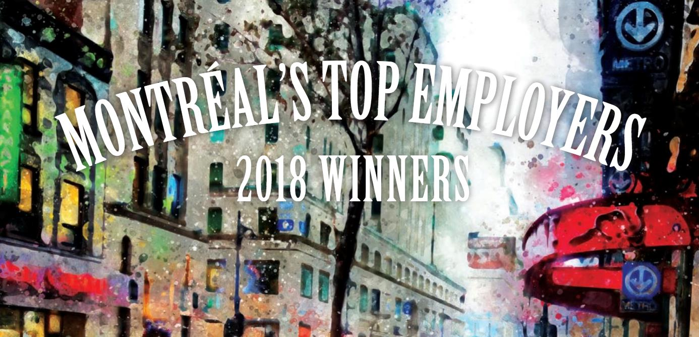Fresche Solutions Named One of Montreal's Top Employers  For 2018