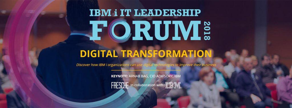 IBM i IT Leadership Forum 2018