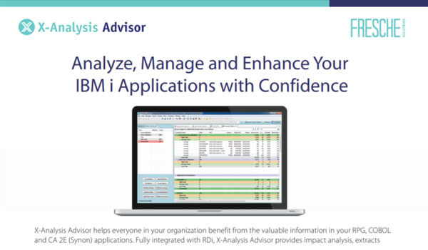 X-Analysis Advisor