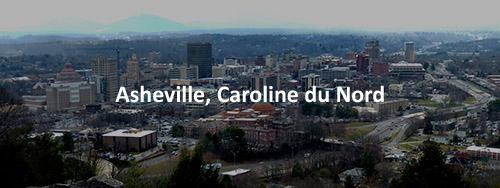 Asheville, Caroline du Nord. SoftBase / Netlert