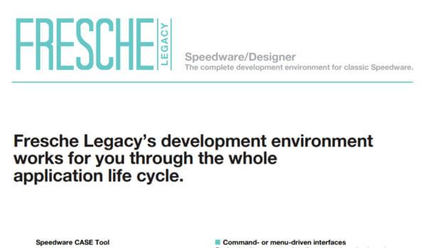 Speedware Designer