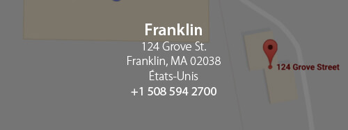 Franklin - Quadrant software. 124 Grove st. Franklin, MA 02038, Etats-Unis. +1 508 594 2700