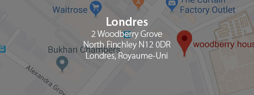 London - 2 Woodberry Grove North Finchley N12 0DR London, UK +44 14 1887 4715