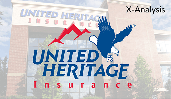 United Heritage Insurance used X-Analysis