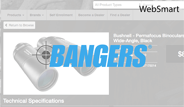 Bangers used WebSmart